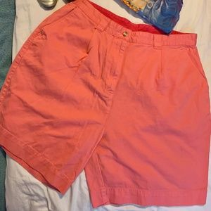 Mountain Lake Melon Color High Waist Retro Shorts